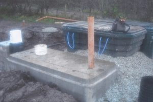 Septic tank and peat filter Kerry Cork Limerick